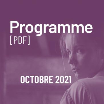 Programme du 22 septembre au 18 octobre 2021